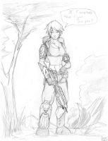 Halo Girl by Andrew-ak-47