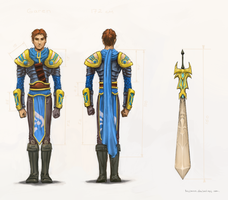 [Commission#4] Garen by Kasimova