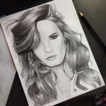 Demi Lovato by Laureny637