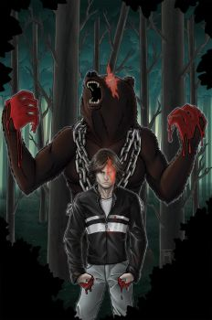 UnBEARable issue #1 cover varient by TashOToole