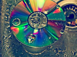 cd colour splash by liinnea