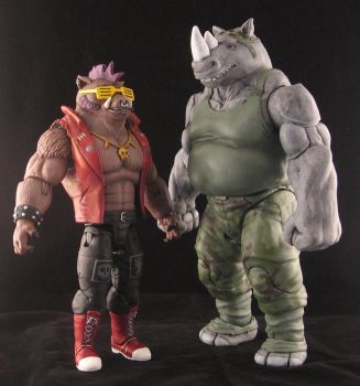 Bebop and Rocksteady by plasticplayhouse