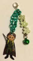 Legolas flower crown charm by Lovelyruthie
