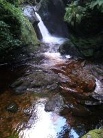 Glen Maye waterfall by MODDEYDOO