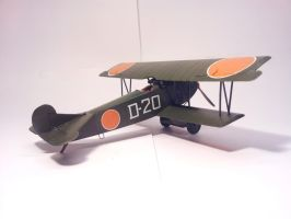 Dutch Fokker D.VII MLD 004 by BlokkStox