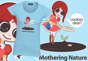 Mothering Nature Tee by carnivalfish
