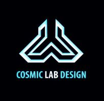 Cosmic Lab Design - logo v.1 by sashander