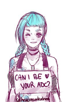 CAN I BE YOUR ADC? by SahneCreamKuchen