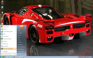 Ferrari-fxx-pacchetto-evoluzine windows 7 theme by windowsthemes