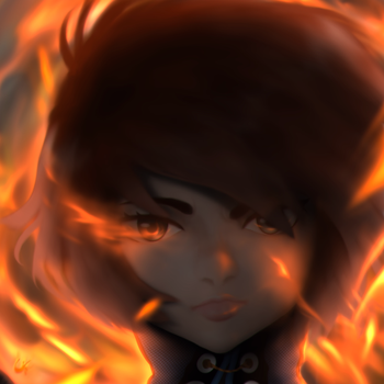 Pyromancer by xiaommpong