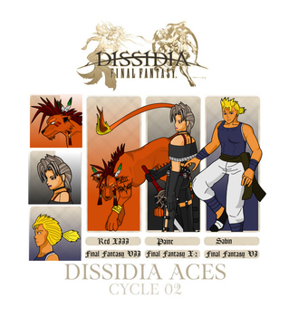 Dissidia Aces Cycle 02- Preliminary Round by Godlis