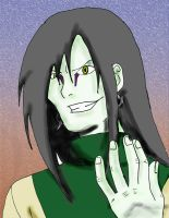 Orochimaru colored by Tailef