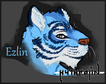 OC Bust- Ezlin by Hythrojin
