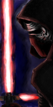 Kylo Ren by D-of-Evil