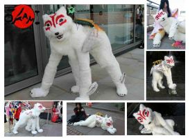 Amaterasu - Okami Quadsuit ((SOLD)) by Koiice