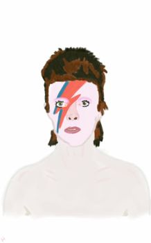 David Bowie  by Megalomaniacaly