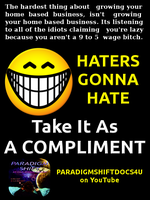 Haters Gonna Hate by paradigm-shifting