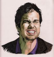 Mark Ruffalo by Deadspeak5