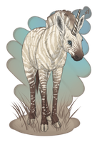 Zebra Unicorn by Nyctra