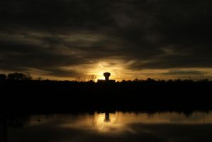 Halloween sunset 2012 by candysamuels