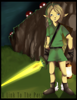 Link: Zelda a link to the past by PeteyXkid