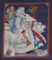 Cross Stitch Polar Santa - Pere Noel Polaire by canadiankazz