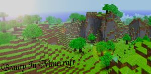 Beauty In Minecraft by HarryIsland
