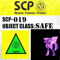 SCP-019 sign by MLP-Portal