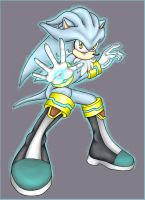 .: Silver the Hedgehog :. by carriepika