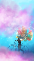 Balloon Seller by Cllaud