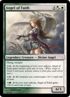 Angel of Faith Magic Card by deathangel20