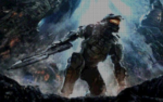 Halo 4 Pixel by javICO