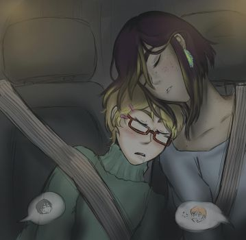Car trip by AnneTheAdorkable