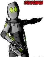 Robot Solider by CrisisOmega