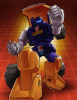 Huffer, my first TF by REX-203