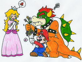 I love Super Mario Bros by Hyliaman