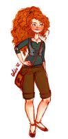 modern merida by blooms414