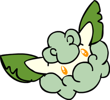 cottonee by neutral-emotions
