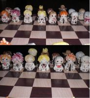 vampire knight chess set by blapium