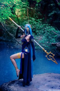 Song of Conquest and Fate - Azura Cosplay by Tinu-viel