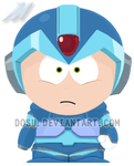 Mega Man X South Park by Dosu