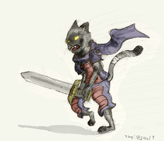 Felis Knight by 1weirdsoul1