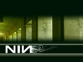 NIN Wallpaper by MStout