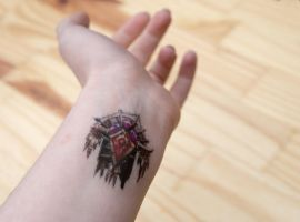 Horde Temporary Tattoo by TheRelicHunter