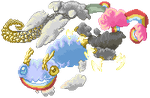 Cloud Dragon by DragonWarriorKirby