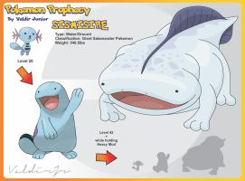 Sismisire Evolution of Quagsire by lanceofdragon