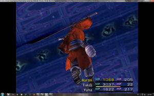 Auron you silly by grenadeh