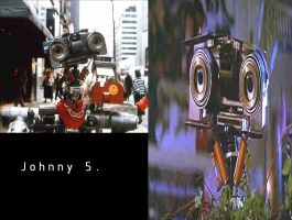 Johnny 5 by Angelgirl10
