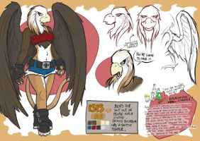 Character Ref - Isis by EMP-83
