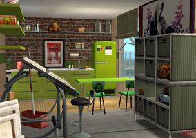 Contest Lot 2 - Sims 2 by CrabOfDoom